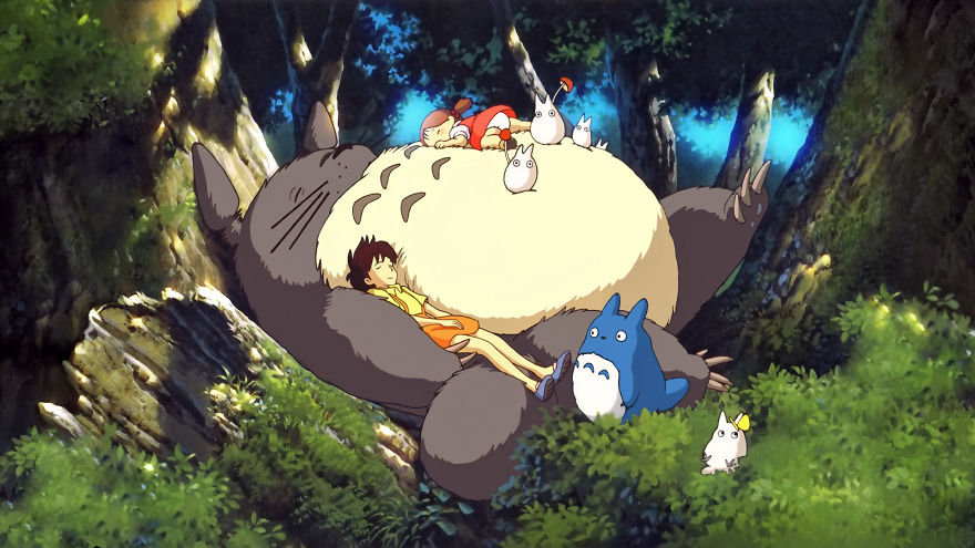 10 My Neighbor Totoro