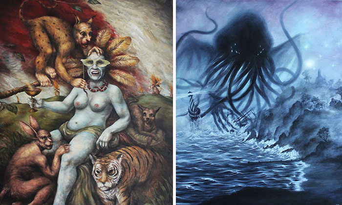 Our Apocalypse-Inspired Artworks On Social Climate Change