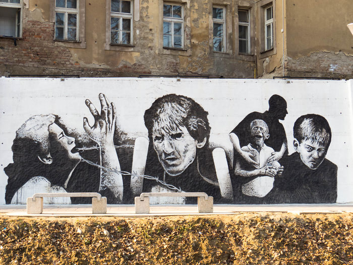 Artists Create A Memorial For The 8372 Genocide Victims In Bosnia And Herzegovina