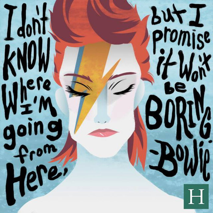 Rip To The Legendary David Bowie