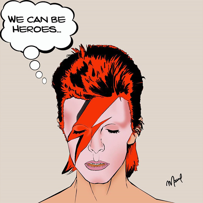 You're A Hero, Bowie...