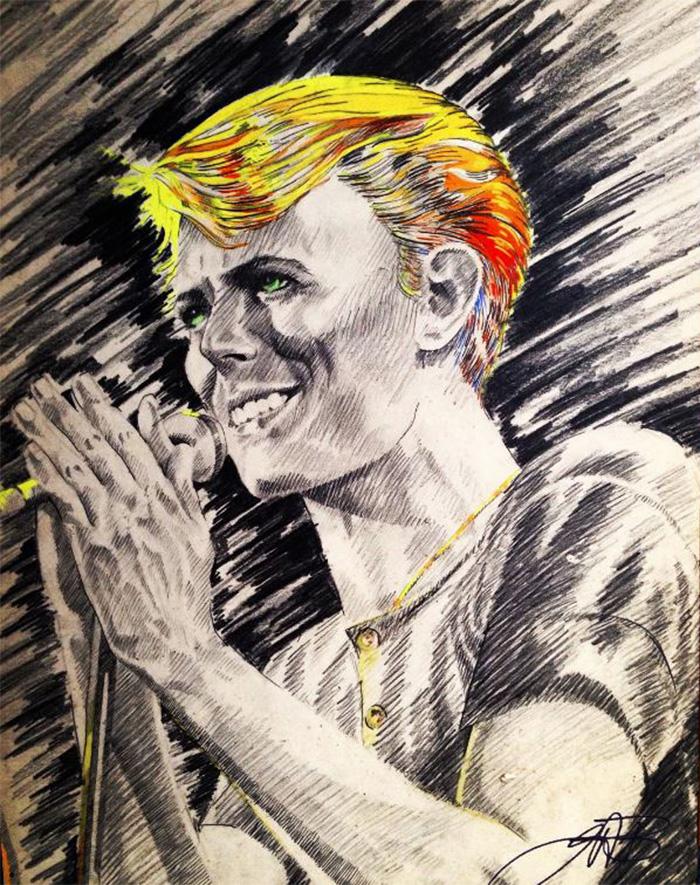 David Bowie, I Have No Words