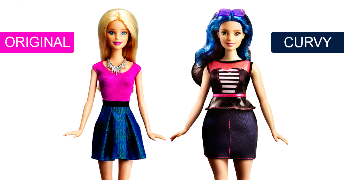 Barbie Releases 3 New Dolls With Realistic Body Shapes Bored Panda
