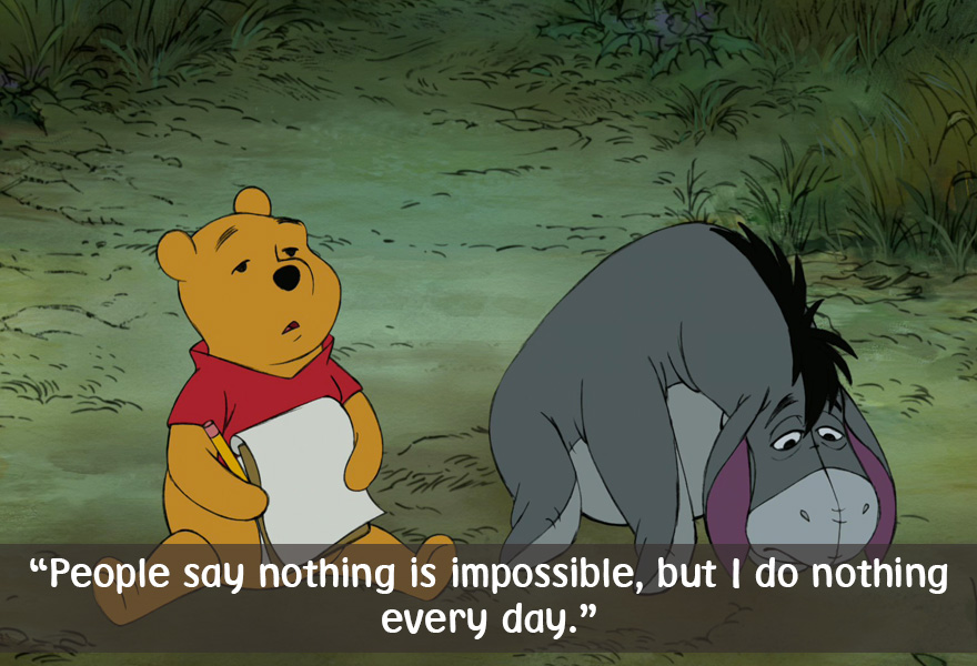 Quotes Winnie The Pooh Prepossessing Celebrate Winnie The Pooh's Day With 22 Of His Best Quotes  Bored