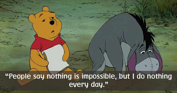 Celebrate Winnie The Poohs Day With 25 Of His Best Quotes Bored Panda