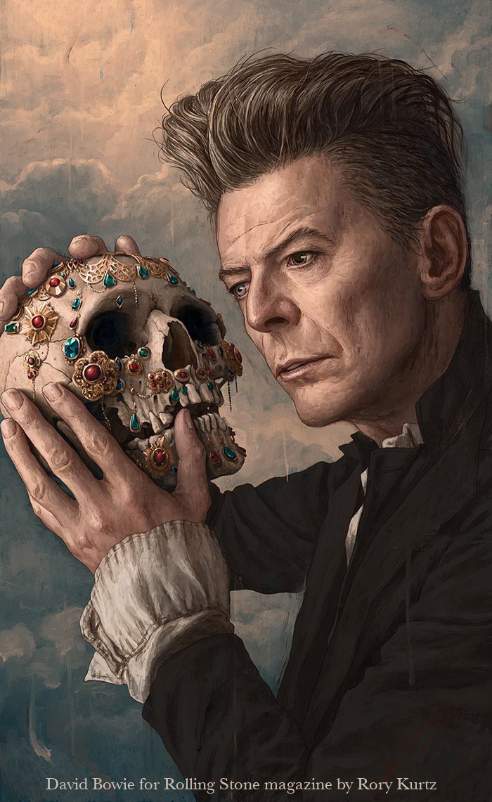 "David Bowie ""blackstar"" By Rory Kurtz"