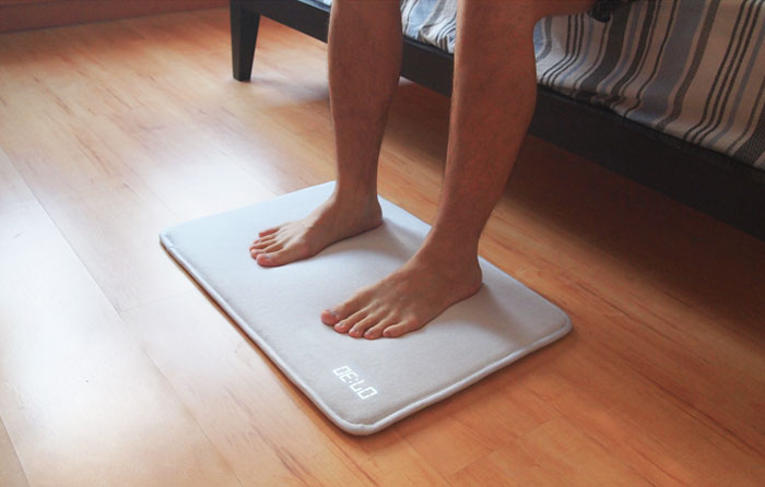 Snoozeless Rug Alarm Clock Won't Stop Until You Step On It With Both Feet