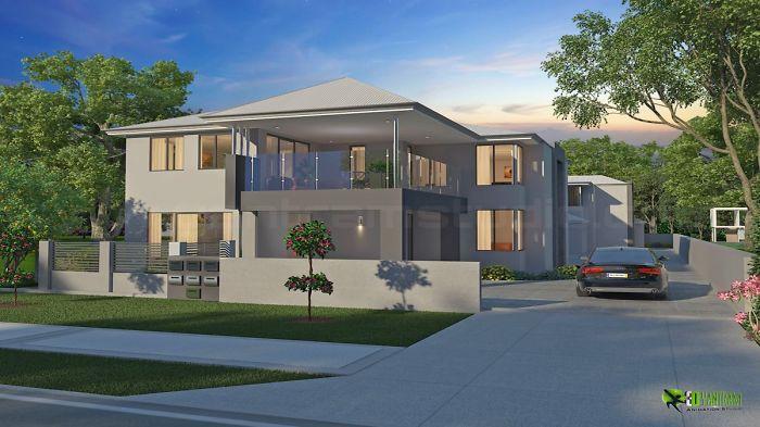 Classic Exterior 3d Home Design