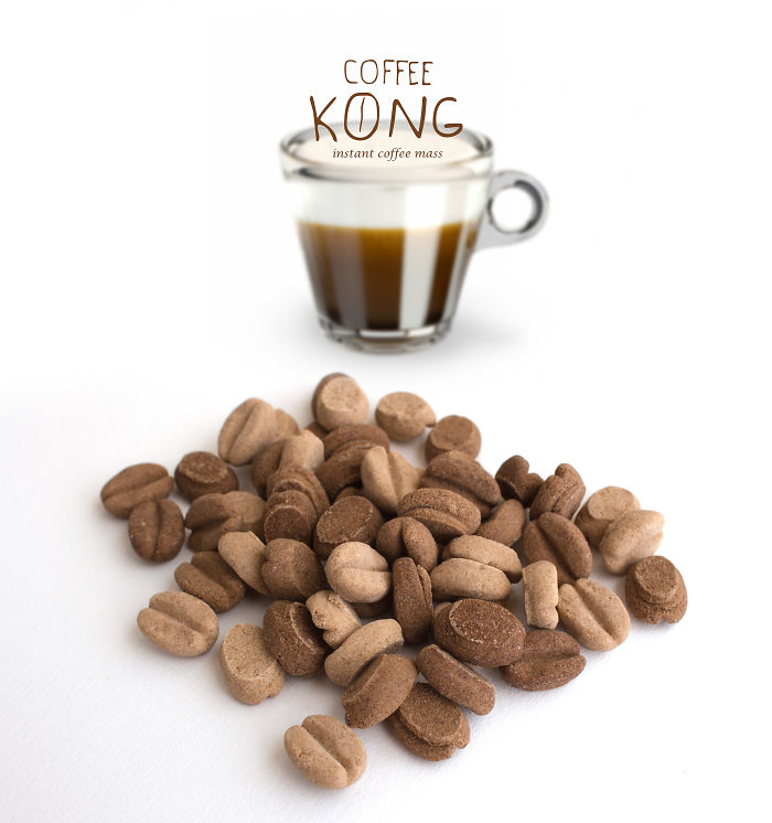 """coffee Kong"" A New Way Of Having A Coffee Break."