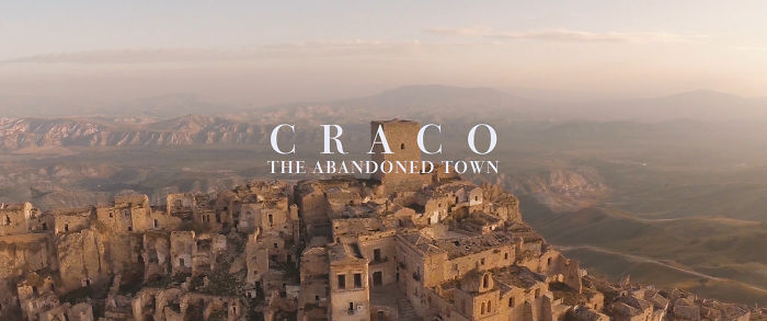 Craco – The Abandoned Town