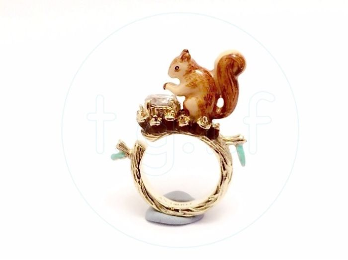Cute Squirrel Ring!