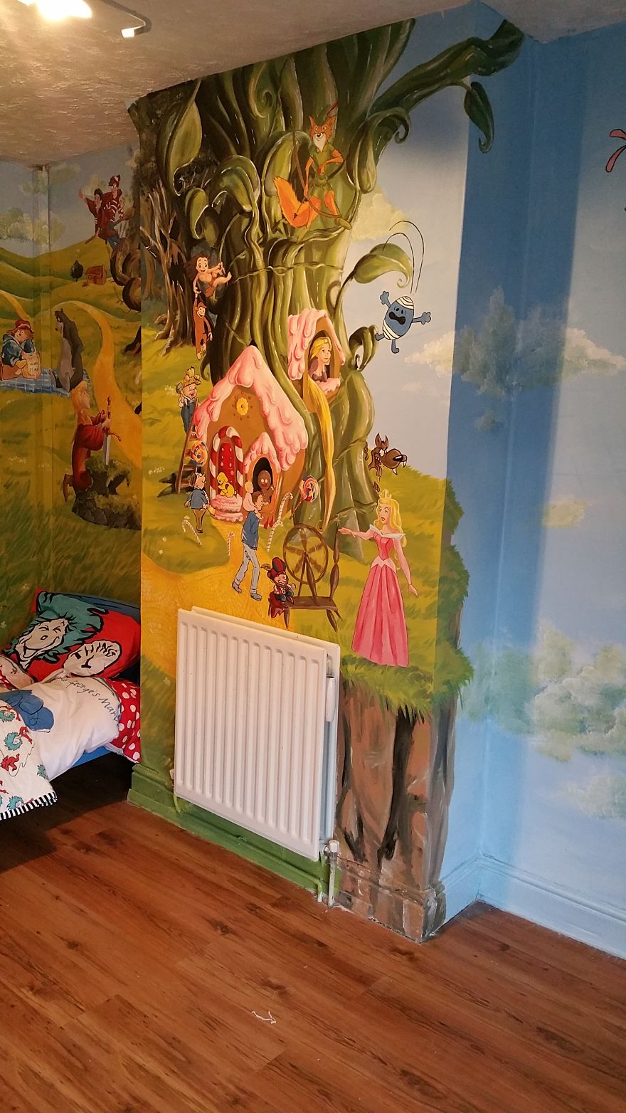 I made a fairytale themed room for my daughter to for Book bedroom ideas