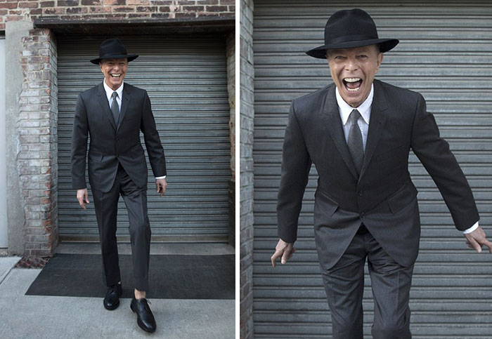 David Bowie's Last Photo Shoot Before His Death