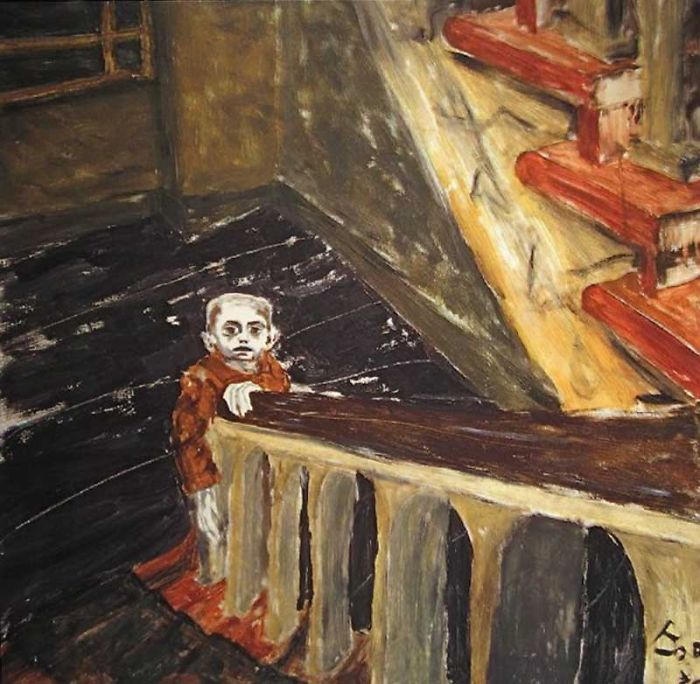 Paintings By David Bowie | Bored Panda