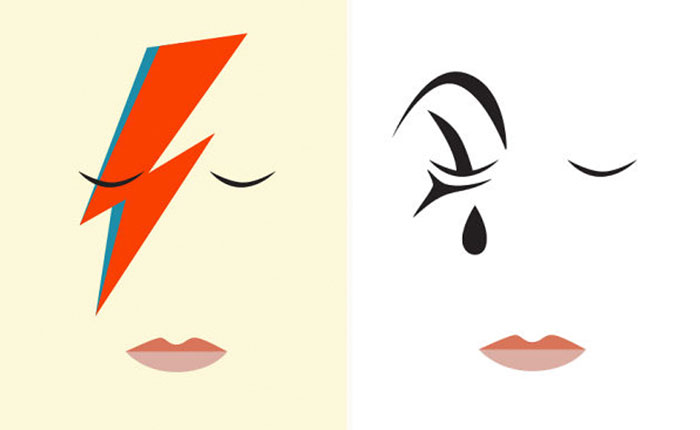 I Created Minimalist Posters To Honour David Bowie