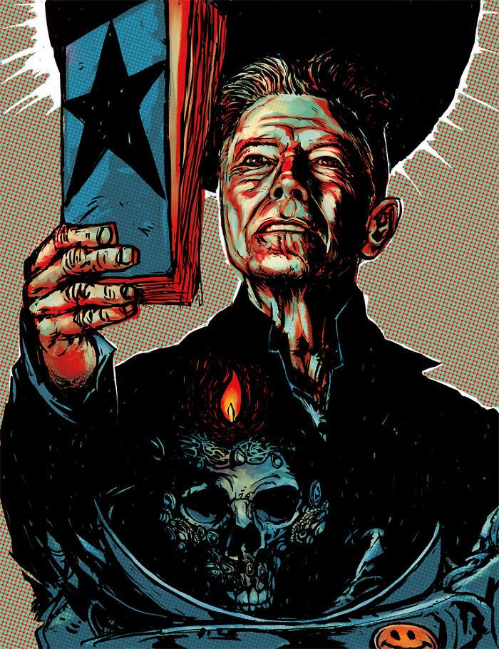 Blackstar - David Bowie By Benrennen.com