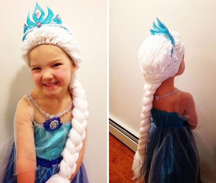 Woman Crochets Wigs For Girls Battling Cancer