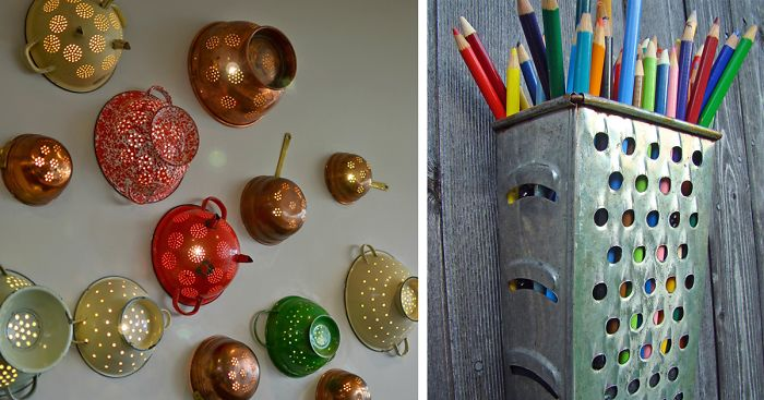 25 Creative Ways To Repurpose Old Kitchen Stuff