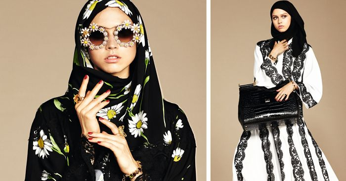 best service 63680 342f1 Dolce & Gabbana Releases Its First-Ever Hijab Collection ...