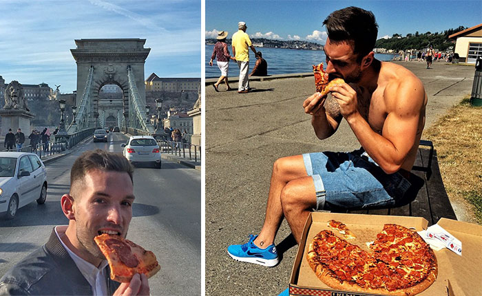 Living The Dream: This Guy Travels The World Eating Pizza