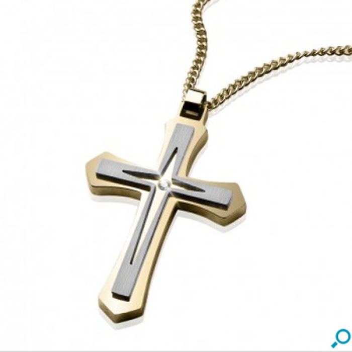 Essentials Cross Pendant