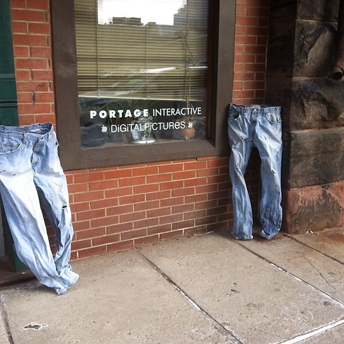 It's So Cold In Minnesota That Even Ghosts Started Wearing Pants