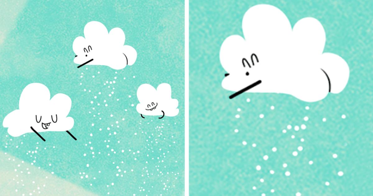 стен гифка тучки со снегом является одним