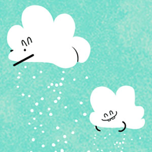 Twerky Clouds: Where The Snow Comes From