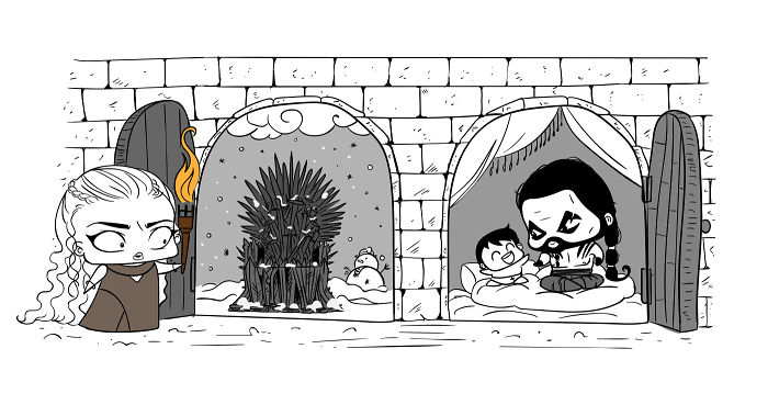 Game Of Thrones With A Chibi Twist – Top 10 Displays Of Magical Prowess (youtube)