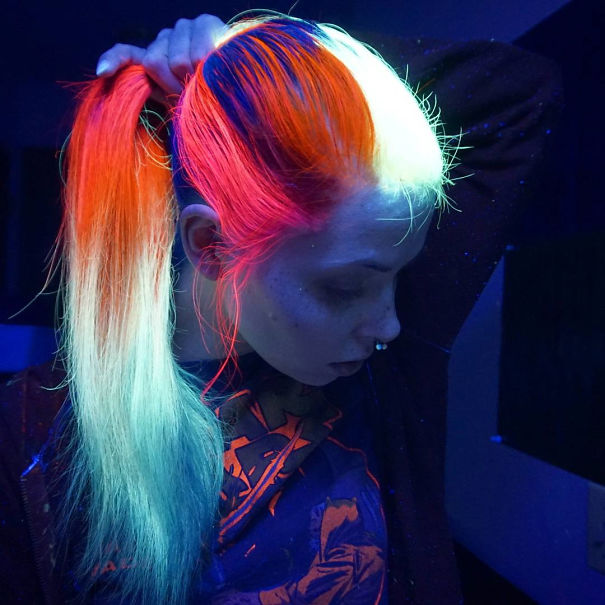 Glowing Hair