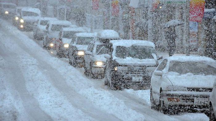 Heavy Snowfall Hits Japan, Several Injured