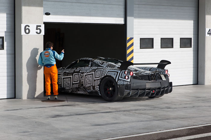 How I Accidentally Got Spy Shots Of The Upcoming Pagani