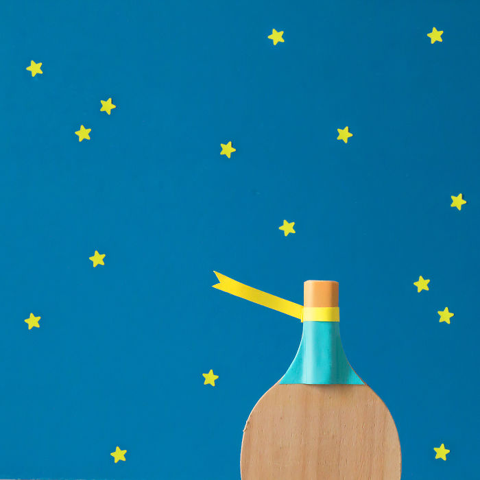I Create Minimalist Posters Of Famous Fairy Tales Using Ping Pong Rackets And Balls