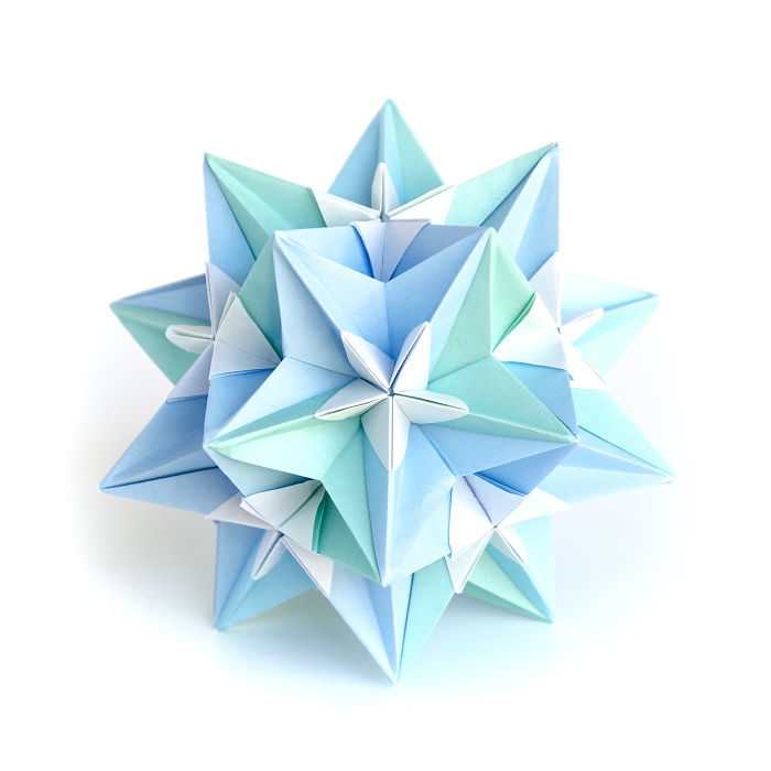 I Created Hundreds Of Intricate Modular Origami Balls