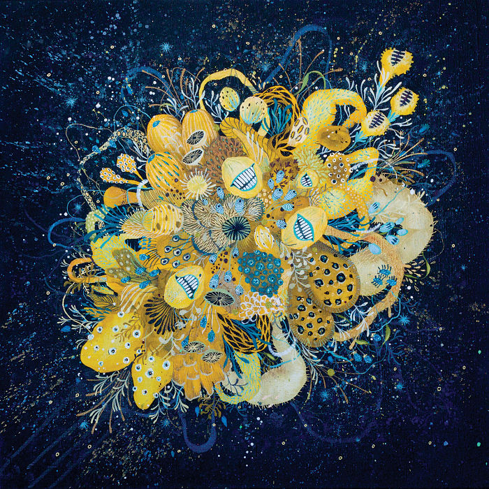 I Explore The World Of Flora In My Paintings