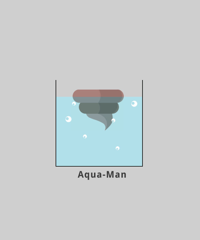 Aquaman (Floating Poop)