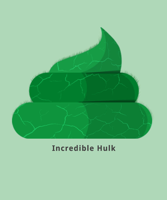 The Incredible Hulk (Mighty Poop)