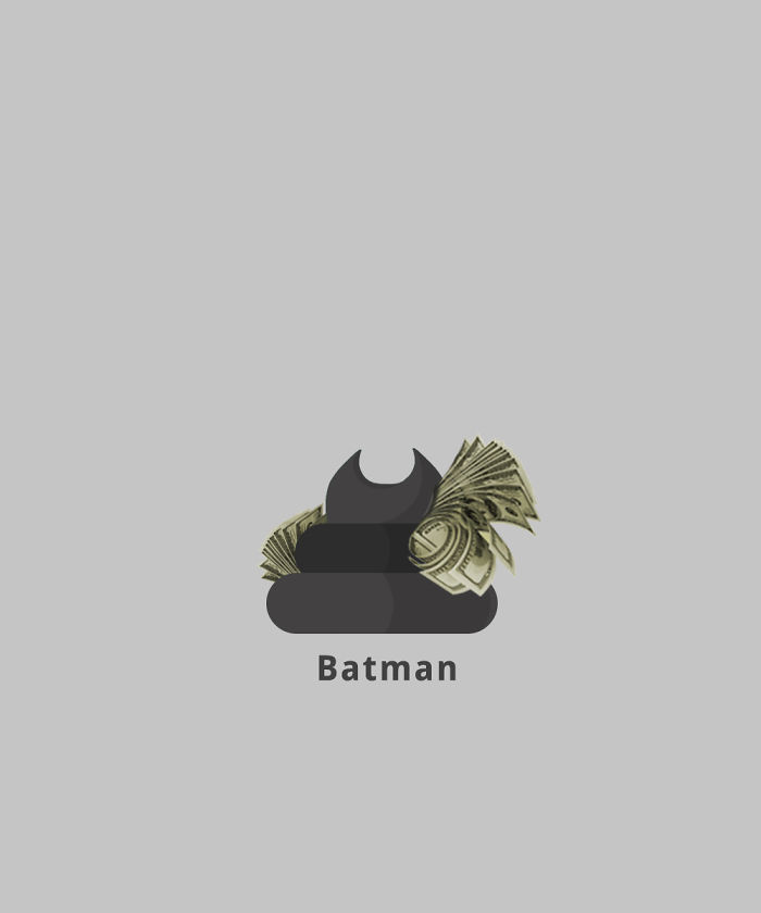 Batman (Costly Poop)