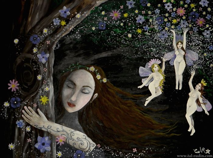 I Make Art Inspired By Fairytales, Nature And Dreams