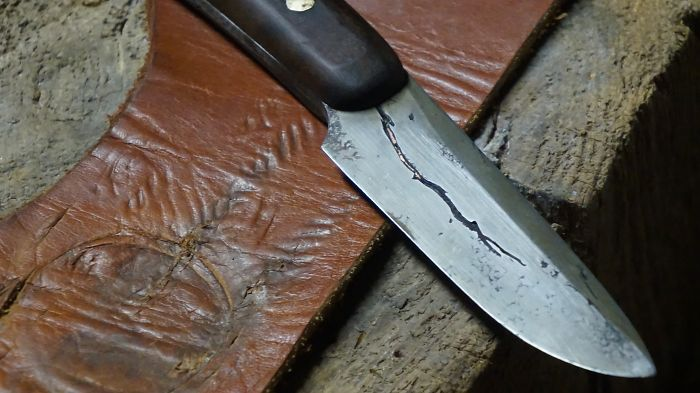 I Make Knives…recycling Never Burned This Bad:)