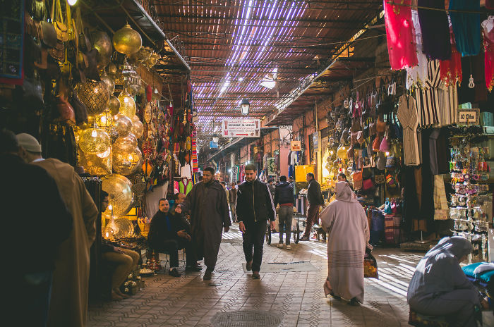 I Photographed The Everyday Life In The Famous Marrakesh Market In Morocco.