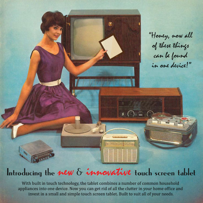 I Re-imagined Today's Technology In Vintage Adverts