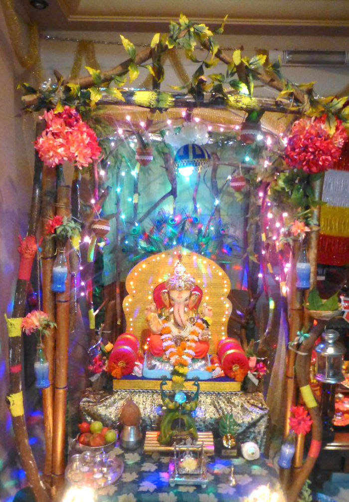 I Spent 100 Hrs On Doing Rustic Wood Forest – Eco Friendly Lord Ganesha