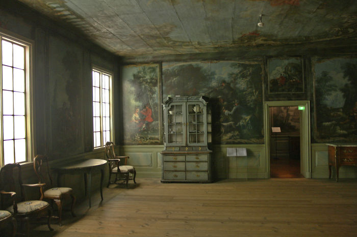I Was In This Museum In Finland, And This Room Impressed Me A Lot.