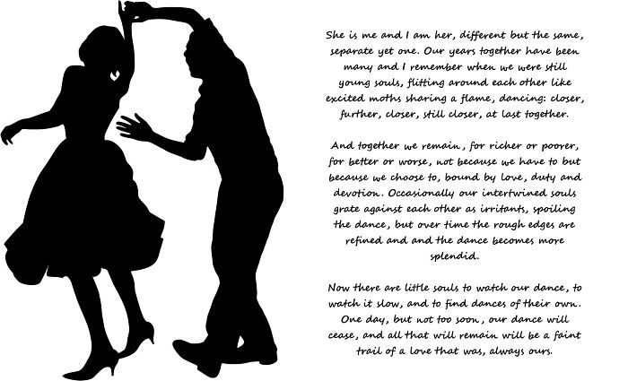 I Wrote This For My Missus On Our 25th Wedding Anniversary.