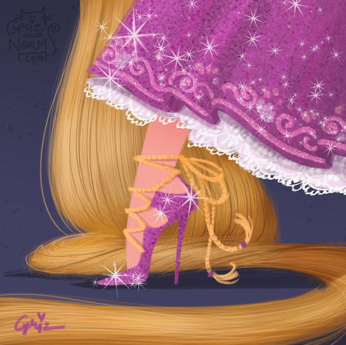 Rapunzel - Jimmy Choo