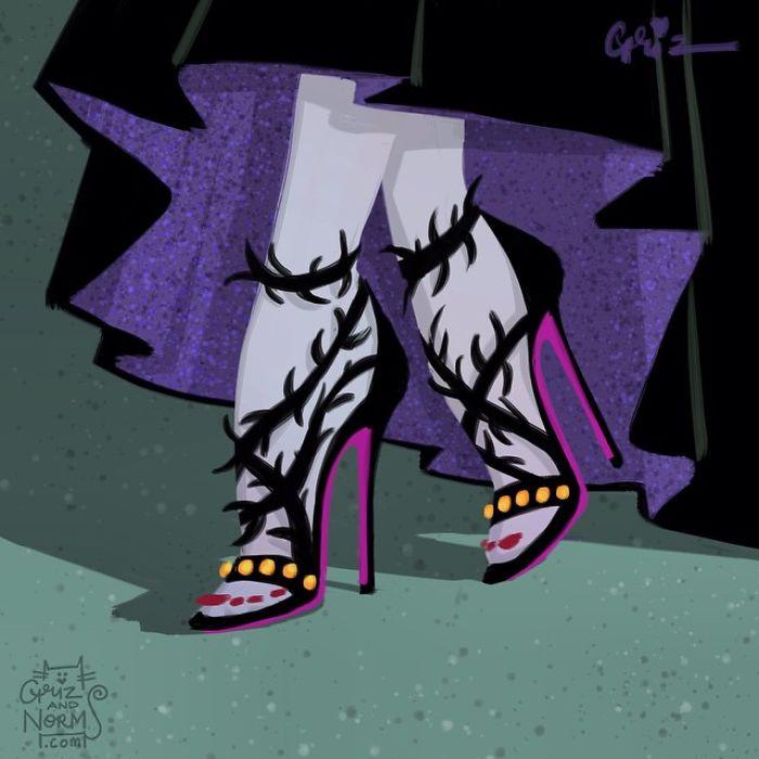 Maleficent - Balenciaga