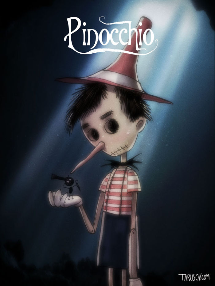 Pinocchio, Directed By Tim Burton