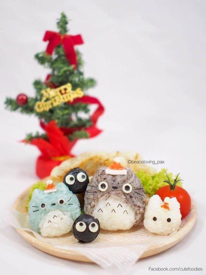 Totoro Rice Balls
