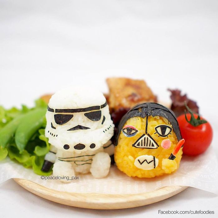 Star Wars Rice Balls